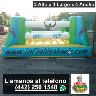 inflable ring de boxeo | queretaro