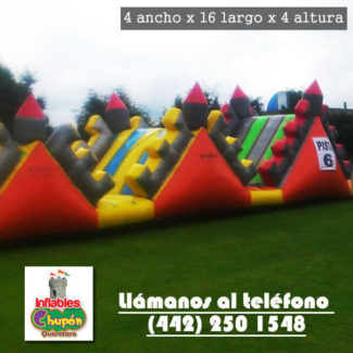 Brincolin Inflable La Muralla China Queretaro