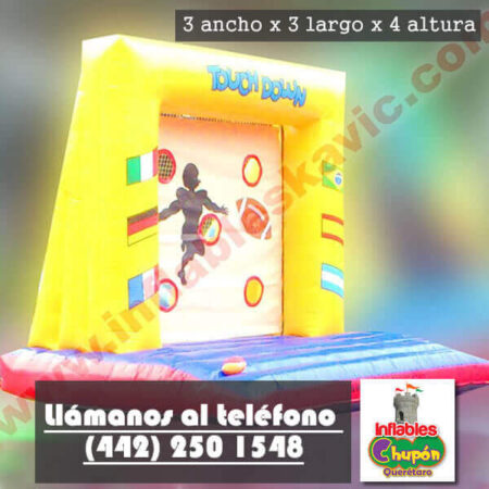 Inflable Touch Down Queretaro