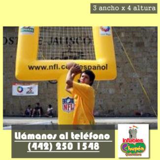 Porteria Inflable Futbol Americano Y Queretaro