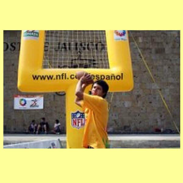 Porteria Inflable Futbol Americano Y