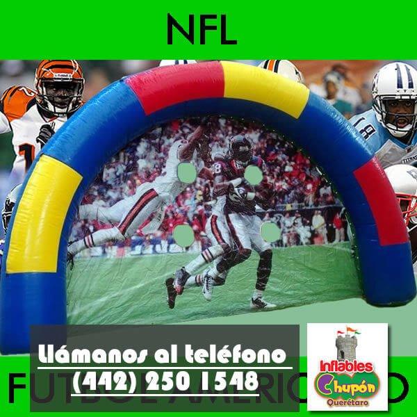 Arco de NFL Inflable Queretaro