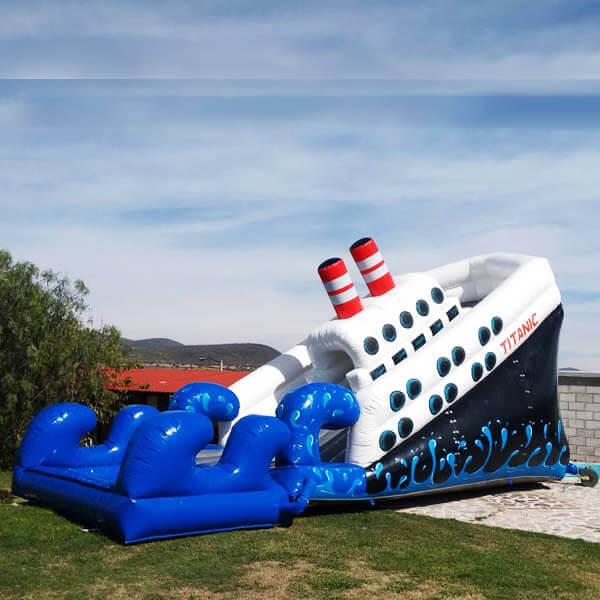 Barco Titanic Juego Inflable