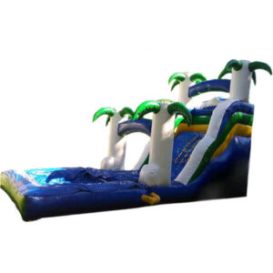 brincolin inflable acuatico la playa