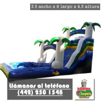 brincolin inflable acuatico la playa Queretaro