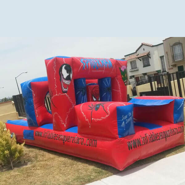 brincolin-mini-obstaculos-hombre-araña-queretaro