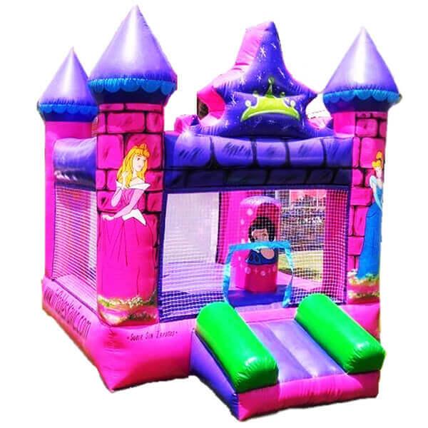 Castillo Inflable Princesas De Disney Renta De Juegos Inflables