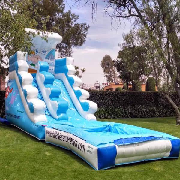 Inflable Acuatico Las Olas Renta De Juegos Inflables Queretaro