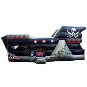 juego inflable barco pirata