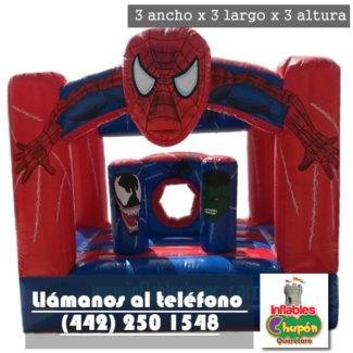 juego inflable del hombre araña chico queretaro