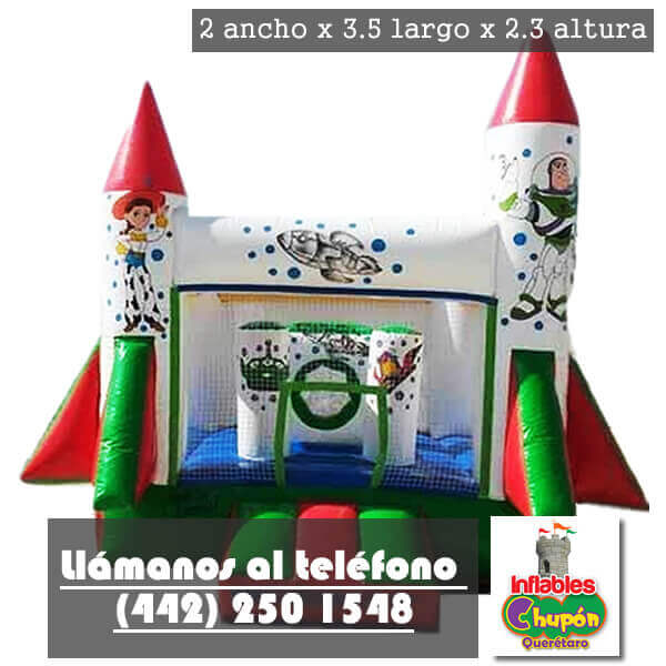 juego inflable toy story queretaro