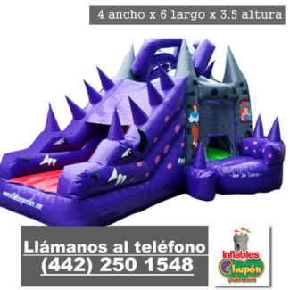inflable crackle princesa vivian queretaro