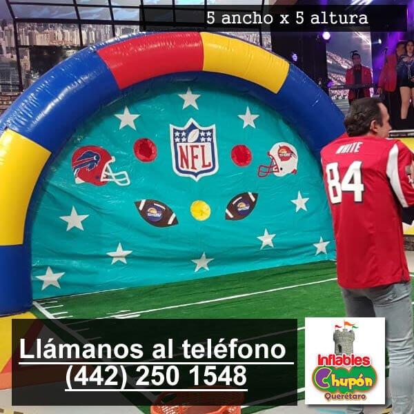 Arco Gigante NFL Inflable Queretaro