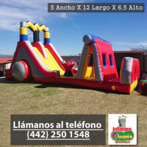 Meg -Obstaculo El Rayo | inflables queretaro