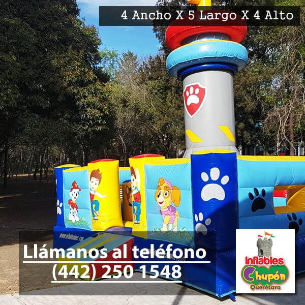 renta de inflables para niños paw patrol | Queretaro