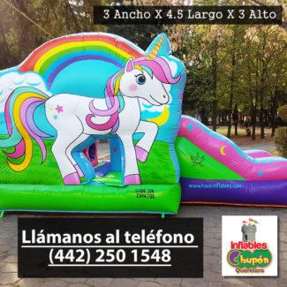 renta de juegos inflables para niñas el pony | Queretaro