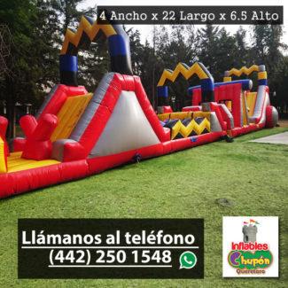 Juego Inflable Combo El Rayo | Queretaro