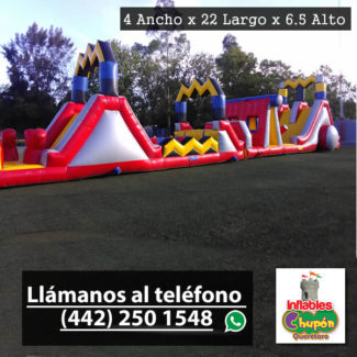 Inflable Combo El Rayo | Inflables Queretaro