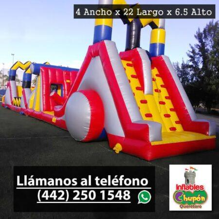 Juego Inflable Combo El Rayo | Inflables Chupón Querétaro