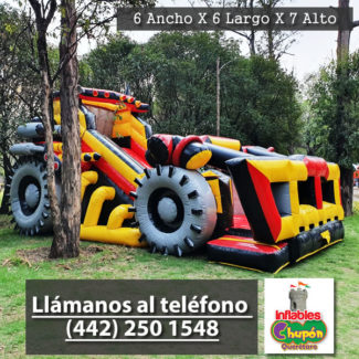 Renta de inflable el destructor | inflables chupon queretaro
