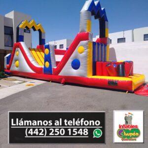 Juego Inflable Combo El-Rayo-inflables chupon | queretaro