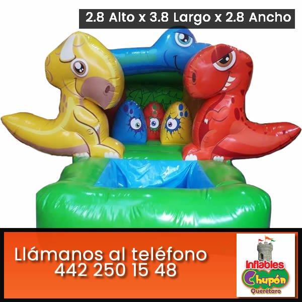 Renta de dinosaurios acuaticos   Queretaro   Chupon