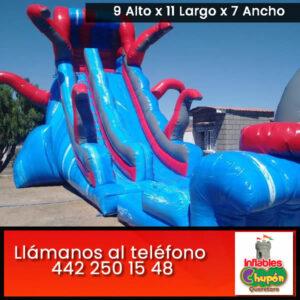 Alquiler de juegos inflables acuáticos | Querétaro