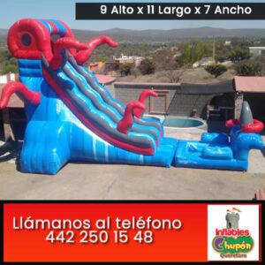 renta de juegos inflables acuáticos | Querétaro